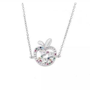 New crystal apple necklace